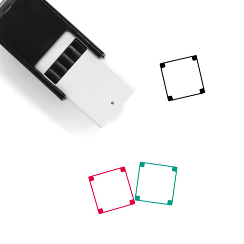 Border Self-Inking Rubber Stamp No. 42