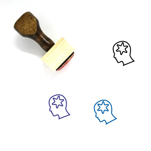 Dream Wooden Rubber Stamp No. 14