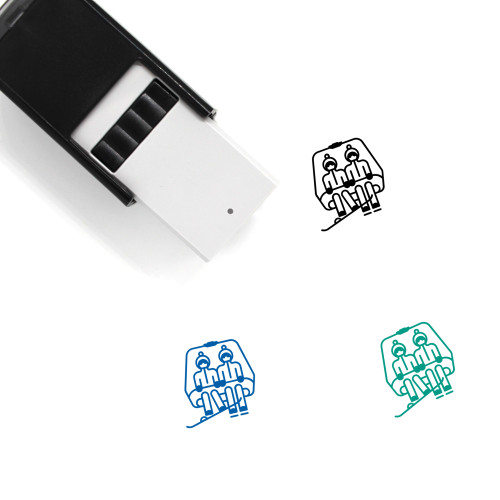 Chairlift Self-Inking Rubber Stamp No. 20