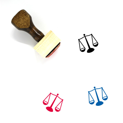 Judge Wooden Rubber Stamp No. 129