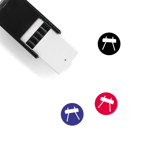 Gym Self-Inking Rubber Stamp No. 42