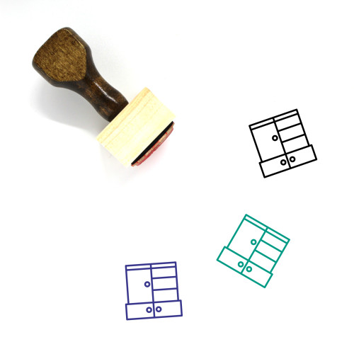 Kit Wooden Rubber Stamp No. 26