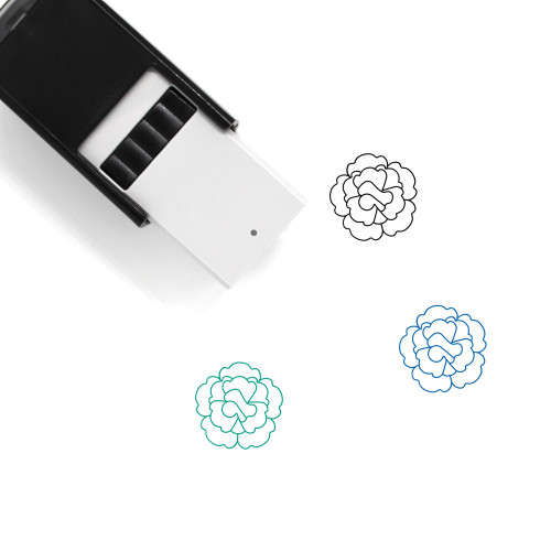 Carnation Self-Inking Rubber Stamp No. 10