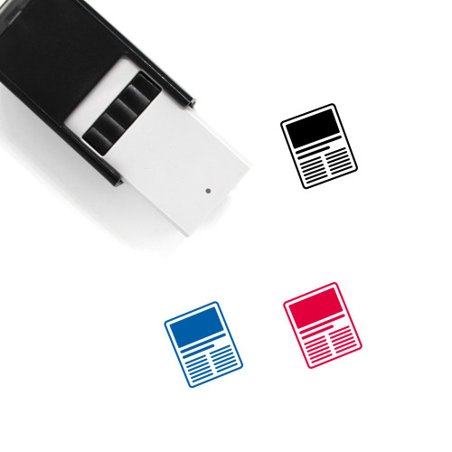 Content Self-Inking Rubber Stamp No. 42