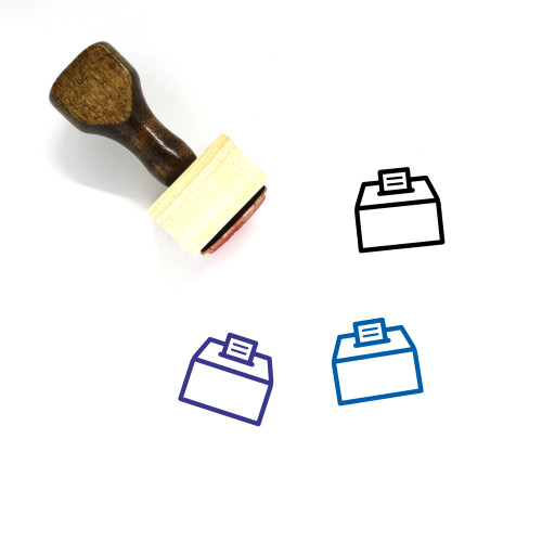 Suggestion Box Wooden Rubber Stamp No. 1