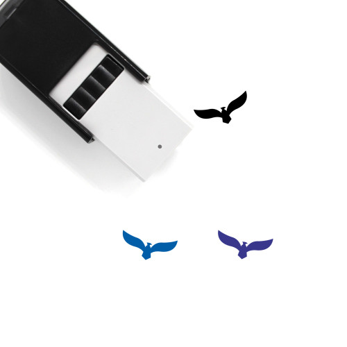 Eagle Logo Self-Inking Rubber Stamp No. 3