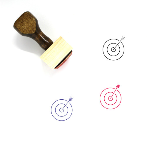 Target Wooden Rubber Stamp No. 223