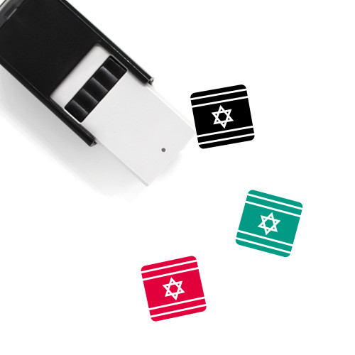 Israel Self-Inking Rubber Stamp No. 40