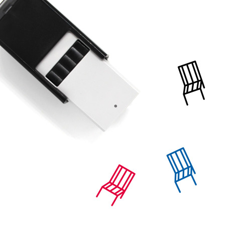 Chair Self-Inking Rubber Stamp No. 189