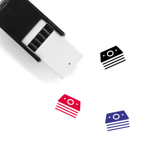 Currency Notes Self-Inking Rubber Stamp No. 2