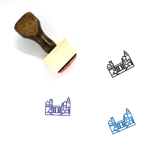 Casa Loma Wooden Rubber Stamp No. 1