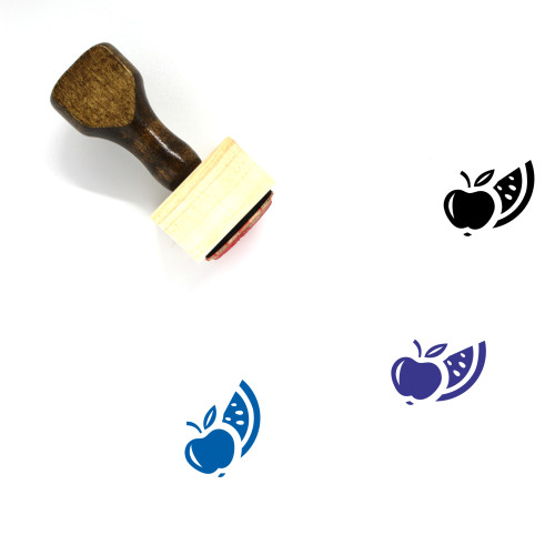 Fruit Wooden Rubber Stamp No. 172