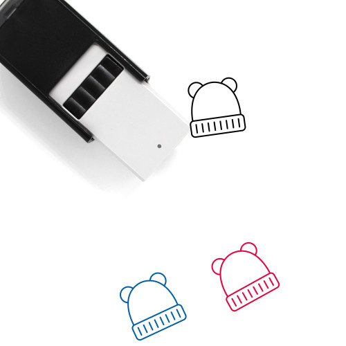 Baby Hat Self-Inking Rubber Stamp No. 11