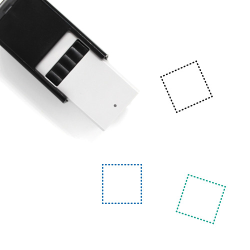 Rectangular Marquee Tool Self-Inking Rubber Stamp No. 1