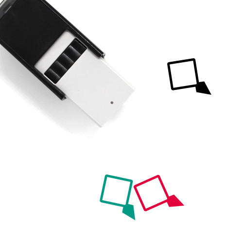 Map Marker Self-Inking Rubber Stamp No. 307