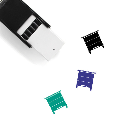 Beehive Self-Inking Rubber Stamp No. 18