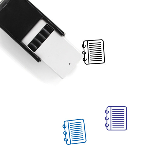Notes Self-Inking Rubber Stamp No. 19