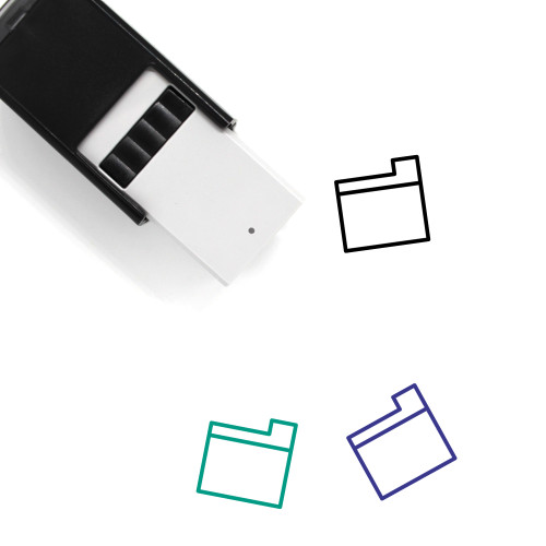 File Storage Self-Inking Rubber Stamp No. 35