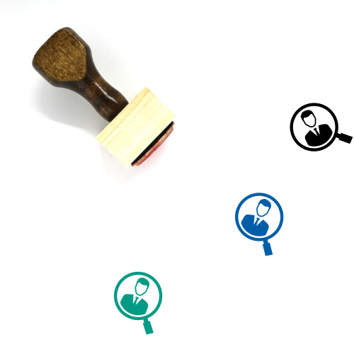 Search Job Wooden Rubber Stamp No. 17