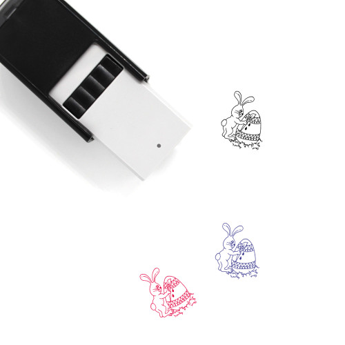 Easter Bunny Self-Inking Rubber Stamp No. 45