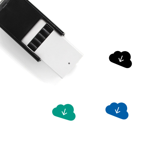 Cloud Download Self-Inking Rubber Stamp No. 70