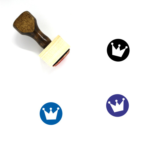 King Wooden Rubber Stamp No. 426