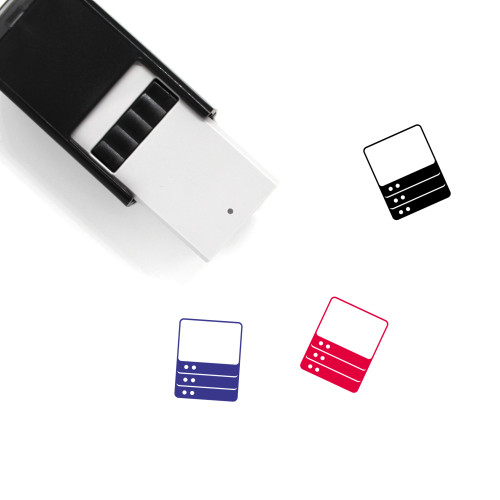 Server Self-Inking Rubber Stamp No. 79