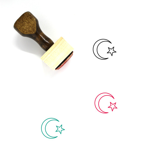 Muslims Wooden Rubber Stamp No. 6