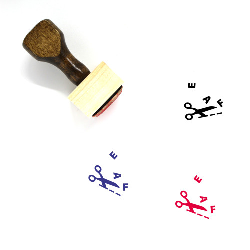 Edit Wooden Rubber Stamp No. 108
