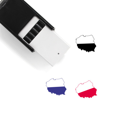 Poland Self-Inking Rubber Stamp No. 42