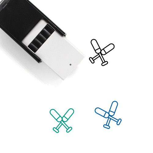 Paddles Self-Inking Rubber Stamp No. 25