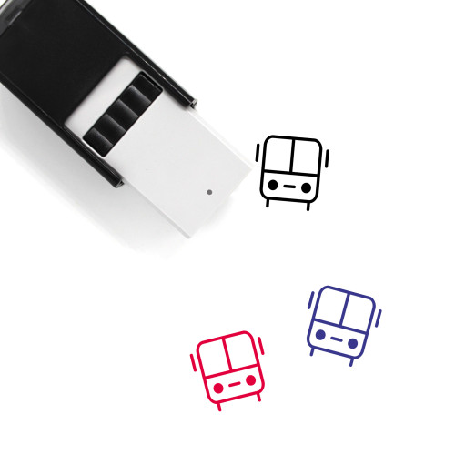 Bus Self-Inking Rubber Stamp No. 157