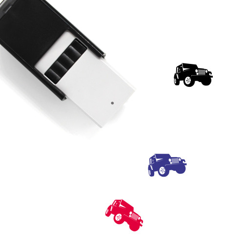 Jeep Self-Inking Rubber Stamp No. 48