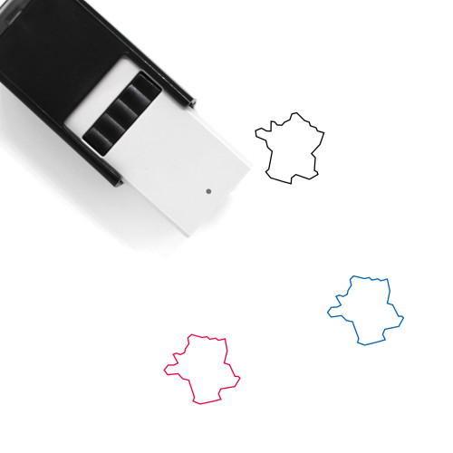 France Self-Inking Rubber Stamp No. 53