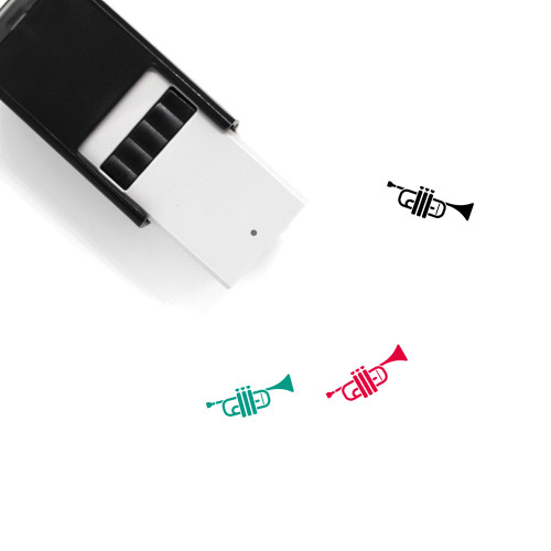 Trumpet Self-Inking Rubber Stamp No. 60