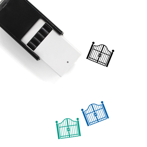 Gate Self-Inking Rubber Stamp No. 41