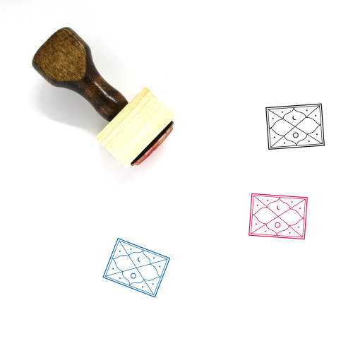 Horoscope Wooden Rubber Stamp No. 2