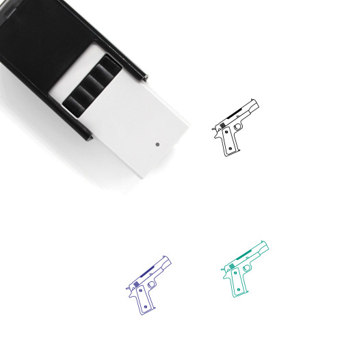 Weapon Self-Inking Rubber Stamp No. 73