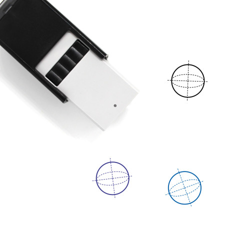 Sphere Self-Inking Rubber Stamp No. 88