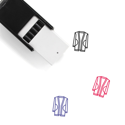 Cardigan Self-Inking Rubber Stamp No. 36