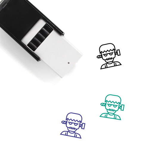 Scary Self-Inking Rubber Stamp No. 8