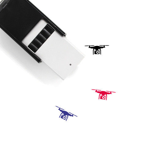 Drone Camera Self-Inking Rubber Stamp No. 19