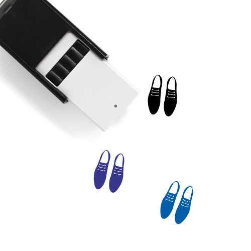 Shoes Self-Inking Rubber Stamp No. 60