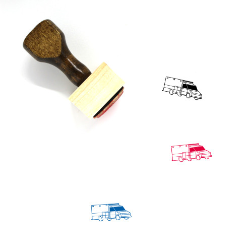 Life Support Wooden Rubber Stamp No. 23
