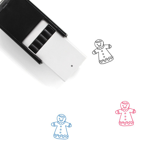 Biscuit Self-Inking Rubber Stamp No. 17