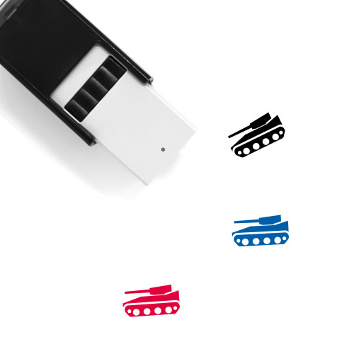 Tank Self-Inking Rubber Stamp No. 97