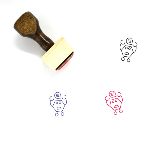 Electronic Wooden Rubber Stamp No. 35