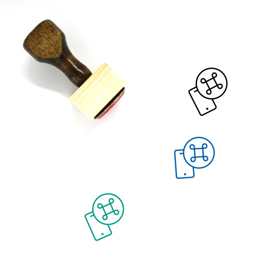 Command Wooden Rubber Stamp No. 28