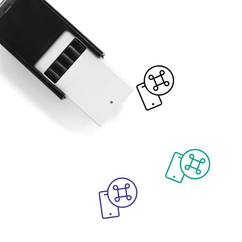 Command Self-Inking Rubber Stamp No. 28