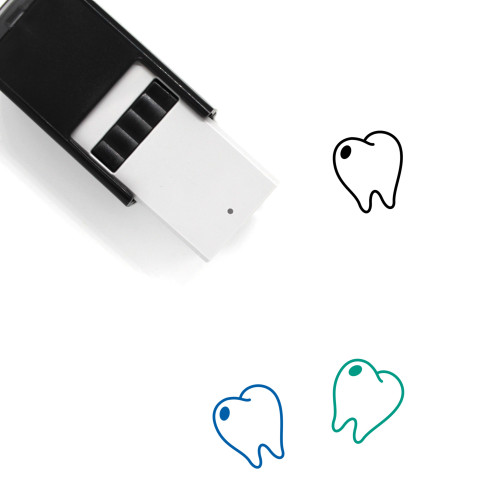 Tooth Self-Inking Rubber Stamp No. 67